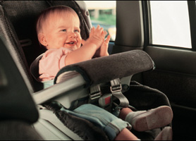 Cuba renta autos asiento para niños
