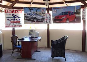 Cuba renta de autos puntos de renta